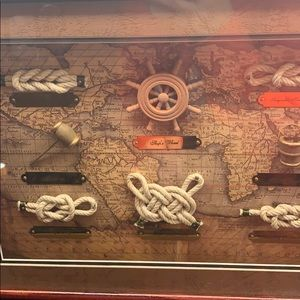 Other - Nautical knot shadow box